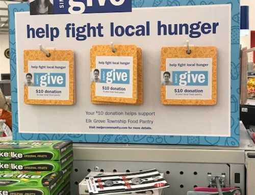 Elk Grove Township Partners with Meijer in a Hunger Relief Effort